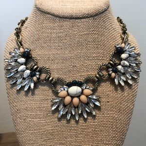 Morning Tide Statement Collar Necklace by C+I